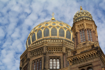 Berlin, The New Jewish Synagoge