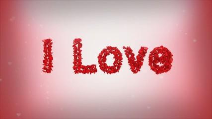 "анимация ""я люблю тебя"""
