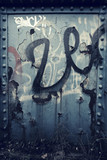 steel graffiti