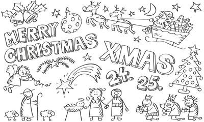 Skizzen Weihnachtssymbole 2