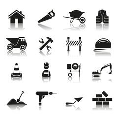16 Icons Arbeit