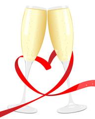 Saint Valentin Champagne