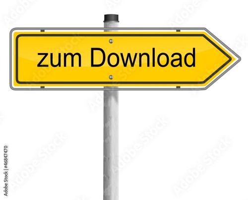 Schild - zum Download