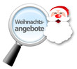 "Lupe ""Weihnachtsangebote"""