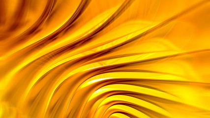 Golden Spinning Lines Abstract Video Background