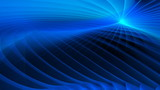 Blue Laser Light Abstract Video Background