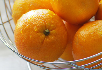 Orangen Korb