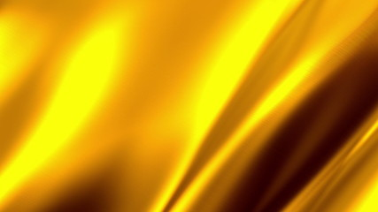 Waving Golden Satin Video Background