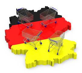 Der Einkauf in Deutschland