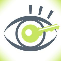 Striking key eye design.