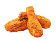 southern fried chicken isolated