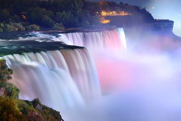 Niagara Falls w kolorach