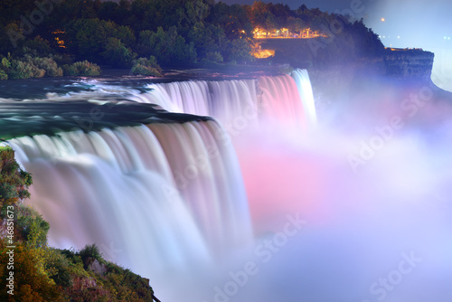 Niagara Falls in colors - 46851673