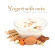 Yogurt with nuts