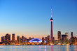 canvas print picture - Toronto skyline