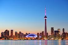 """Постер, картина, фотообои """"Toronto skyline"""""""