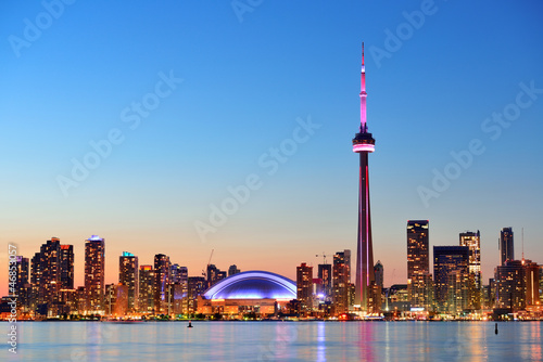 Fotobehang Canada Toronto skyline