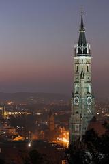 Martinsturm bei Nacht