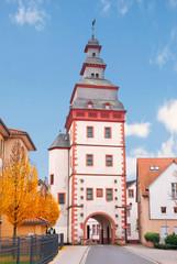 Mittelalterlicher Steinheimer-Torturm in Seligenstadt