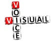 3D Visual Voice Crossword