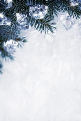 Icy background