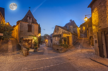 medieval village of Beynac, Dordogne, France