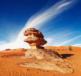 Fototapeta skały - Sahara - Pustynia Piaszczysta