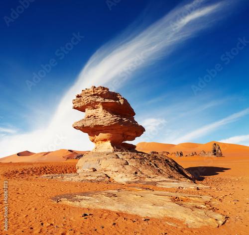 Fotobehang Algerije Sahara Desert, Algeria