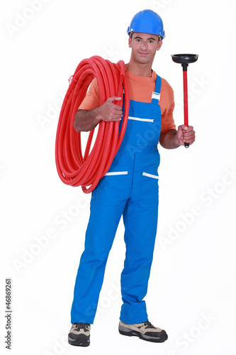 A plumber.
