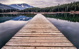 Fototapety Lost Lake Dock