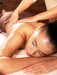 Woman having massage in the spa salon - 46871441