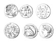 Coins/Medals : Greece - Antiquity