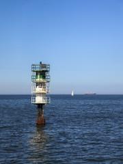 Fairway in a sea