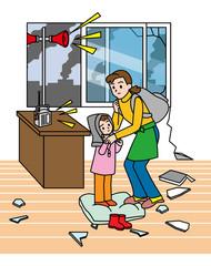 地震災害避難準備