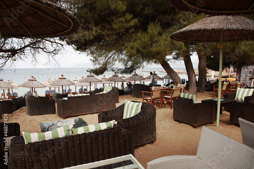 Bar on Banana Beach, Skiathos