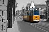 Fototapeta tramwajowych - czarny - Zewnątrz
