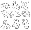 Cartoon Hands Vectors