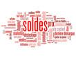 """Nuage de Tags """"SOLDES"""" (offre spéciale prix  courses shopping)"""