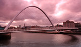 Tyne river millenium bridge