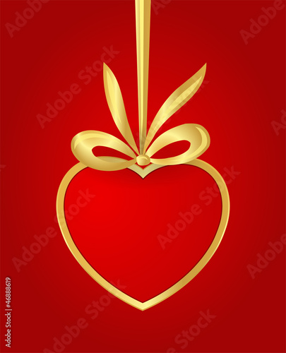 valentine´s heart. with place for your text.
