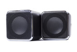 square speakers