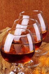 Cognac e tre ballon