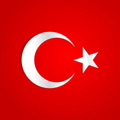 Türk Bayrağı Kağıt Etkisi