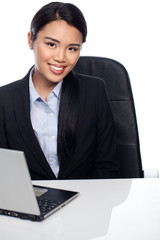 Attractive Asian business professional
