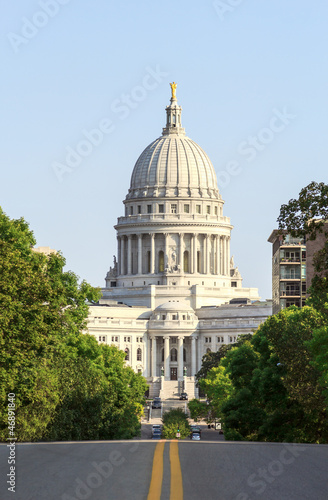 State Capitol of Wisconsin in Madison