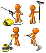 Janitorial Services Professional Cleaning Team
