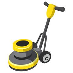 Vector Floor Buffer and Polisher
