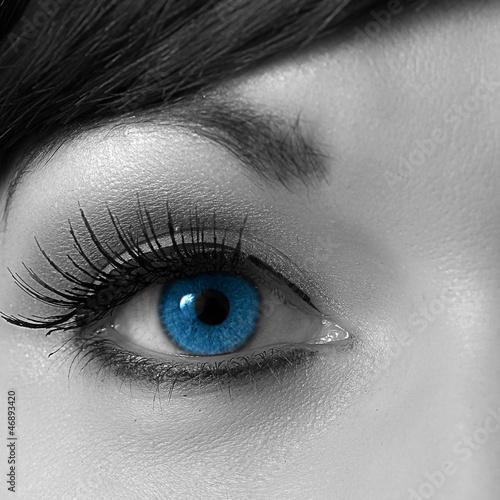 Fototapeten,colour,auge,wimper,blau