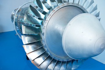 Aircraft engine model