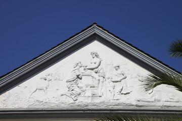 Detailaufnahme vom Fürstenhof Bad Pyrmont